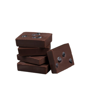 All Natural Dark Chocolate Bites with Real Wild Maine Blueberries, Natural Bars, NibMor, NibMor - NibMor