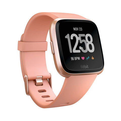 Fitbit Versa Health & Fitness Activity Smartwatch with Heart Rate, Music Peach *Preowned*