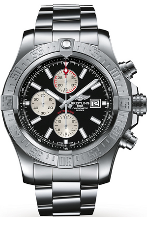 Breitling Super Avenger II Mens 48mm Stainless Steel Watch -  A1337111/BC29 168A *New*