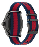 Gucci Dive Men's 45mm Fabric Dial  & Fabric Strap Watch, Red/Blue - YA136215