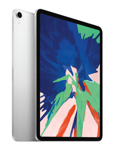 "Apple iPad Pro 11"" 64GB (3rd Gen 2018) Cellular 4G Tablet - Silver MU0U2BA *New*"