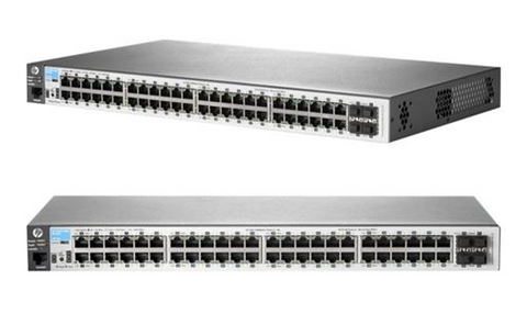 HPE Aruba 2530-48G - 48 Ports - Rack-mountable 4x Gigabit SFP Managed Ethernet Switch (J9775A)