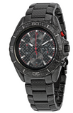Michael Kors Men's 45mm Jetmaster Black Carbon Fiber Chronograph Watch MK8455