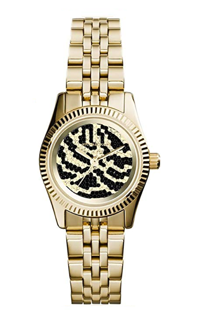 Michael Kors Ladies Petite Lexington Gold & Black Dial 26mm Watch MK3300 *New*