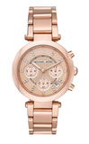 Michael Kors Parker Rose Gold 39mm Dial Ladies Chronograph Watch MK5277
