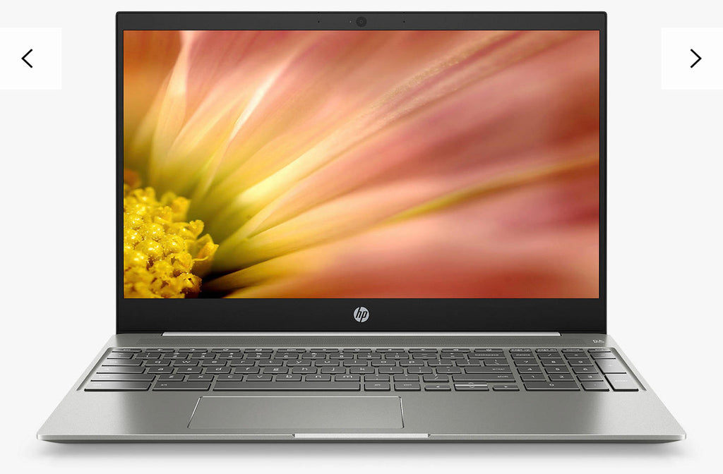 "HP 15-de0003na Chromebook Laptop, Core i5-8250U 8G RAM, 128GB eMMC, 15.6"", White *New & unboxed*"