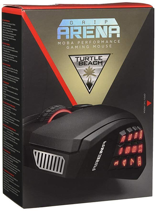 TURTLE BEACH Grip Arena MMO gaming mouse for PC / Mac (TBS-4845-01)