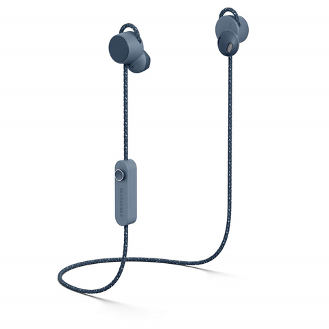 Urbanears Jakan Bluetooth Wireless Earphones 12+ Hours Play - Slate Blue 1002575 *Unsealed*