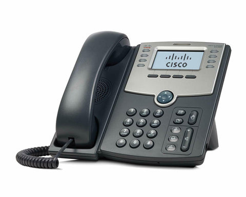 Cisco SPA508G 8-Line IP Phone with 2-Port Switch PoE and LCD Display *New*