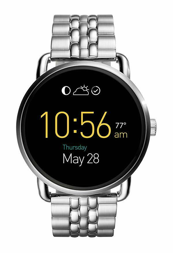 Fossil Q Wander Bracelet Touchscreen Smart Watch FTW2111 *Preowned*