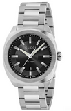 Gucci GG2570 Men's 40mm Black Dial With Silver Stainless Steel Bracelet Strap Watch - YA142301