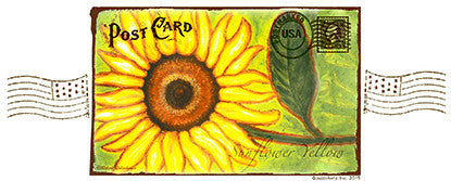 1028PC - Vintage Sunflower Yellow