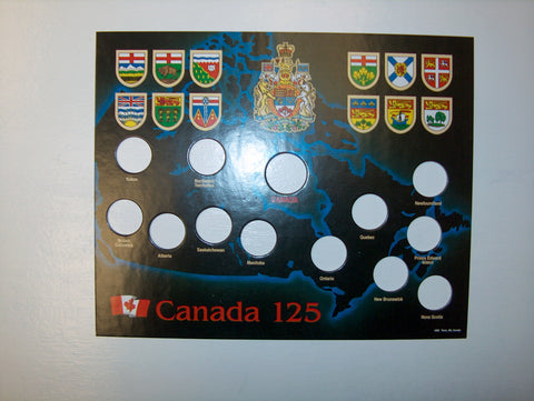 Coin Holder 1992 Canadian Provinces HLRC28