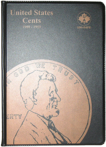 UNI-Safe Coin Folder United States Cents #110