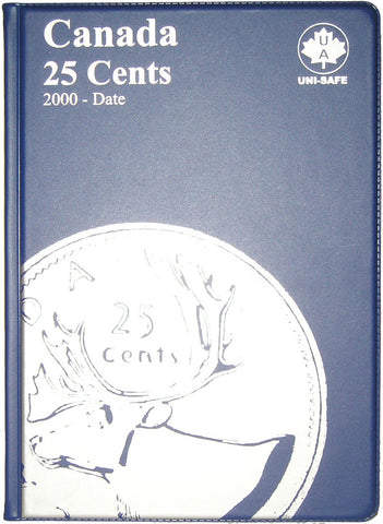 UNI-Safe Coin Folder Canada 25 Cent #132