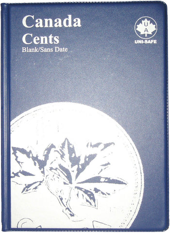UNI-Safe Coin Folder Canada Cent #142B