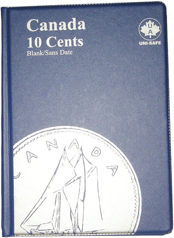 UNI-Safe Coin Folder Canada 10 Cent #144B