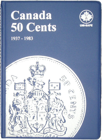 UNI-Safe Coin Folder Canada 50 Cent #146