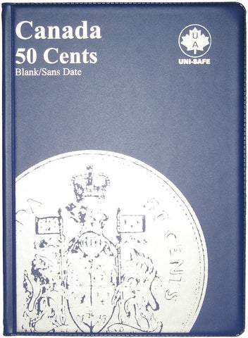 UNI-Safe Coin Folder Canada 50 Cent #146B