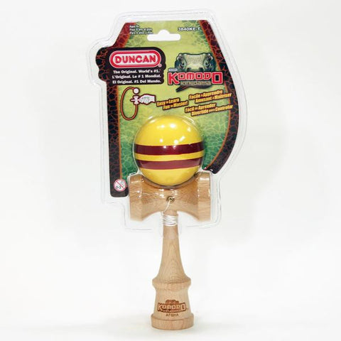 Duncan Komodo Kendama Yellow/Red  3840KE-T