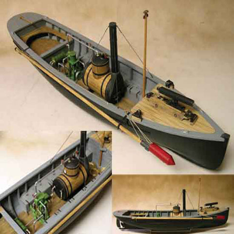 Model Shipways:  MS2261   USN PICKET BOAT #1 1:24 SCALE