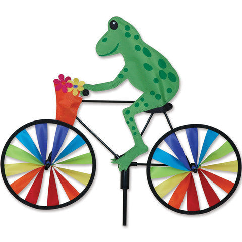 "Wind Garden  26854   20""  Tree Frog Bike Spinner"