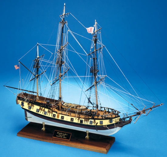 Model Shipways Rattlesnake Ship Model Kit  MS2028