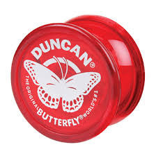 Duncan Butterfly Yo-Yo ( Red ) 3124BU