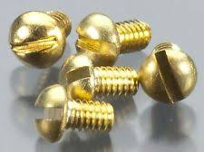 "Hob-Bits H806 Round Head Screws Size: 0-80 Length: 1/4"" (5-Pack)"