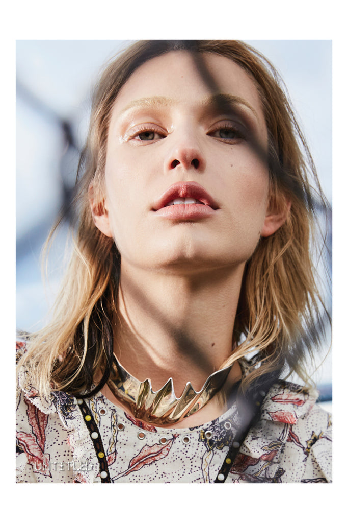 The Untitled Magazine features Shahla Karimi Materiality Choker