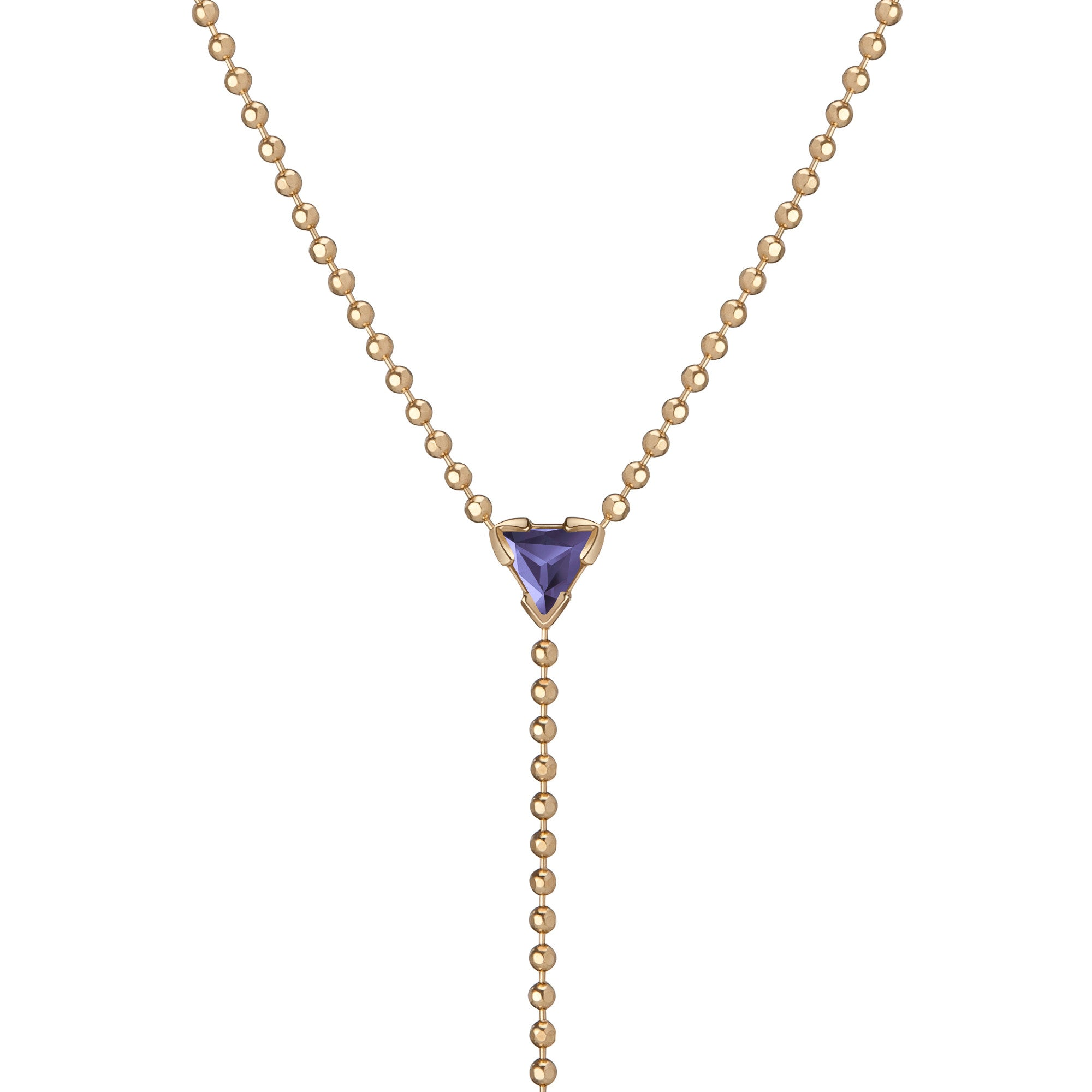 tanzanite rose gold diamonds in necklace tw with