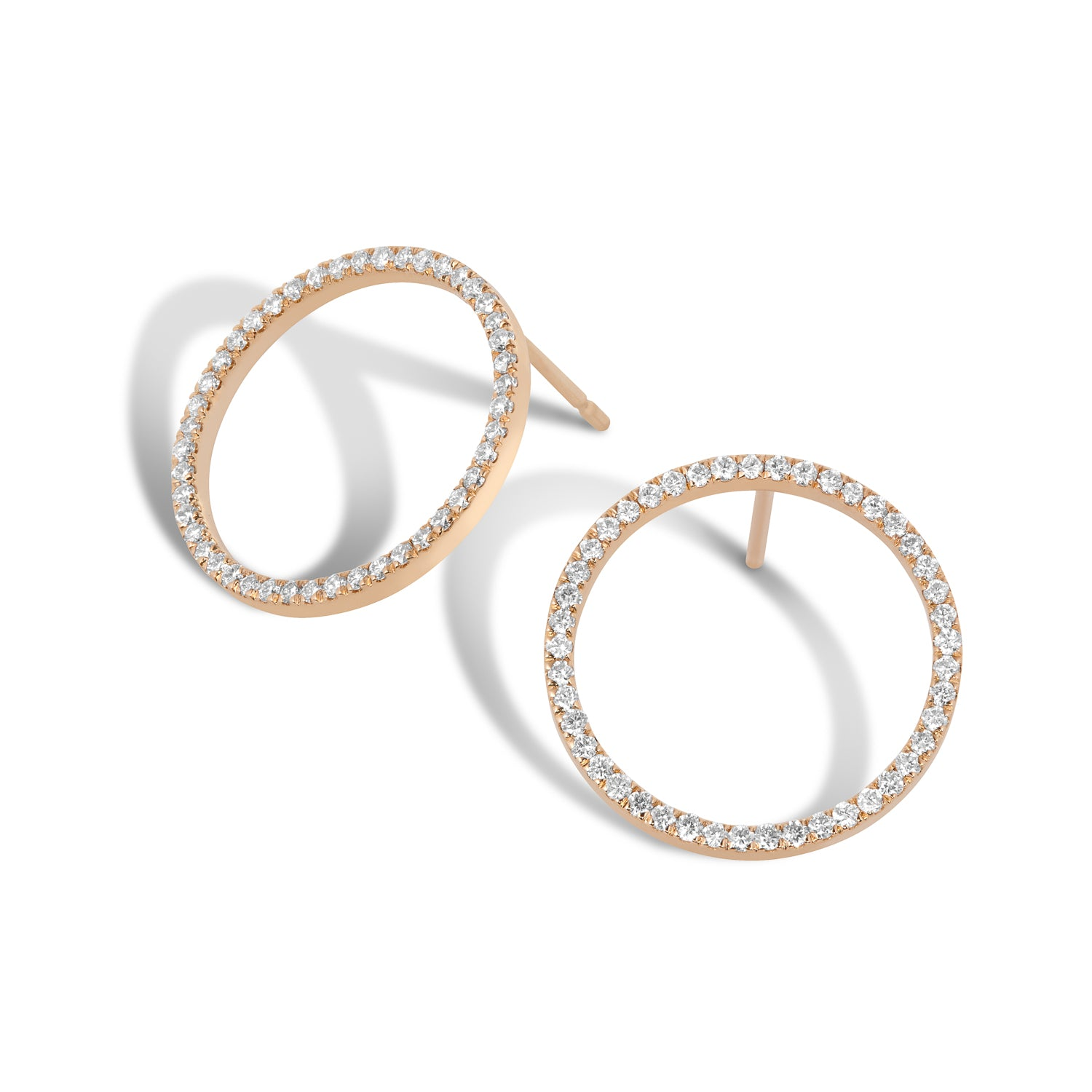 stud smallhoop hoop gold earrings products with small moon