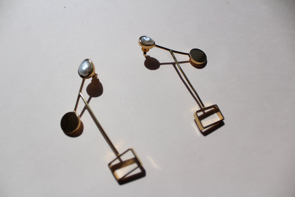 Gold Rodete Pinzon Earrings