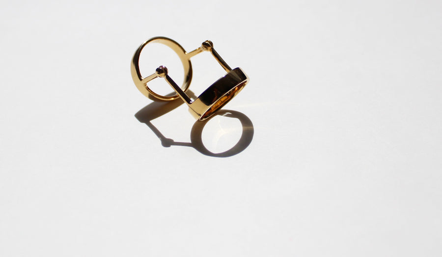 Gold Articulado Ring