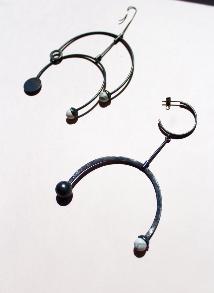 Rodete Pavonado Earrings