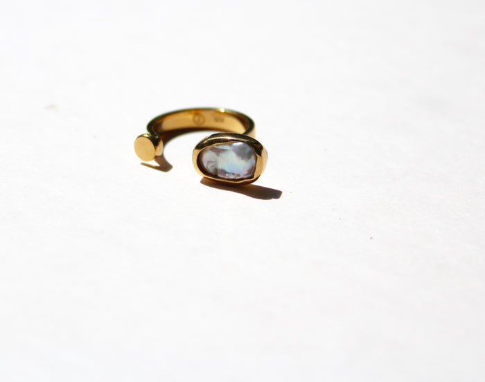 Gold Rodete Tuvalu Ring