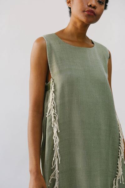 Escudo-PAQARI Maxi Dress