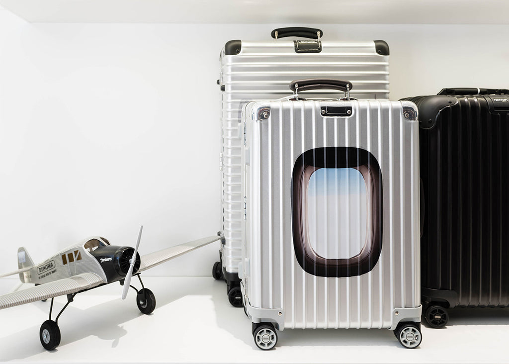 Collaboration with Rimowa Luggage
