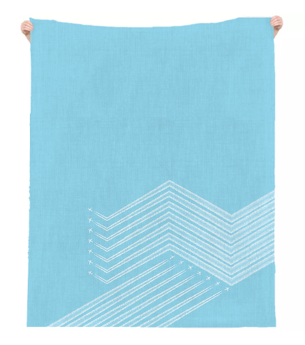 MEX Linen Beach Throw