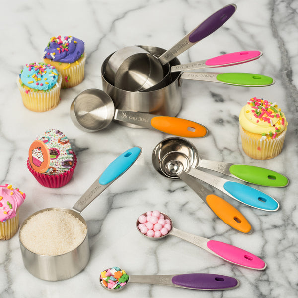 12-Piece Stainless Steel Measuring Cup and Measuring Spoon Set (FREE SHIPPING)