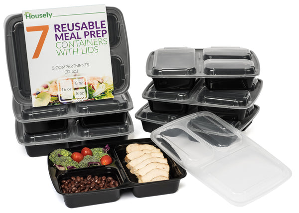 7 Piece Set Meal Prep Storage Containers (FREE SHIPPING)