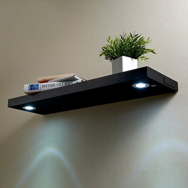 Little Rock LED Floating Shelf
