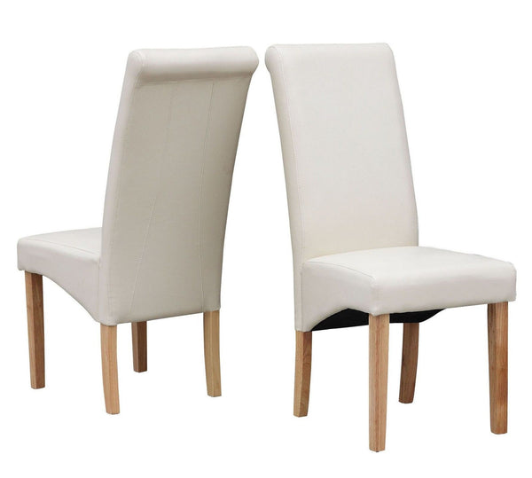 Premium Faux Leather Dining Chairs - GSR Decor