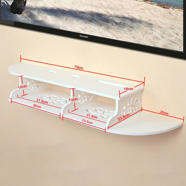 Cyberport 2 Tier Floating Wall shelf