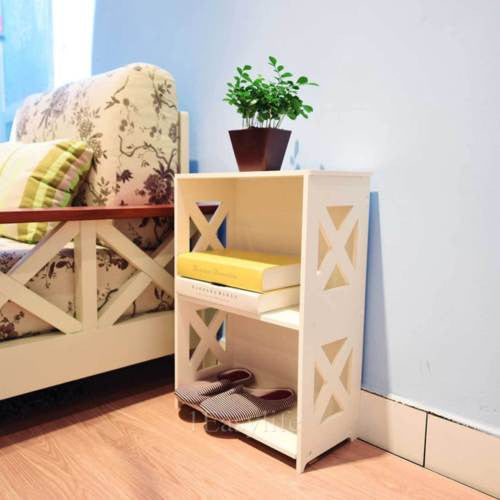 Diamond Hill 2 Tier Bedside Table - GSR Decor