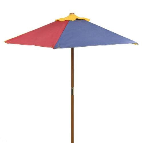 Bouverie Kids Picnic Bench with Parasol