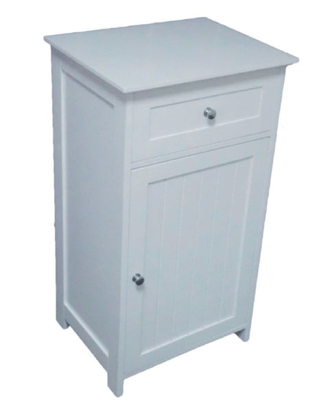 Saxony Single Door/ Drawer Bathroom Cabinet
