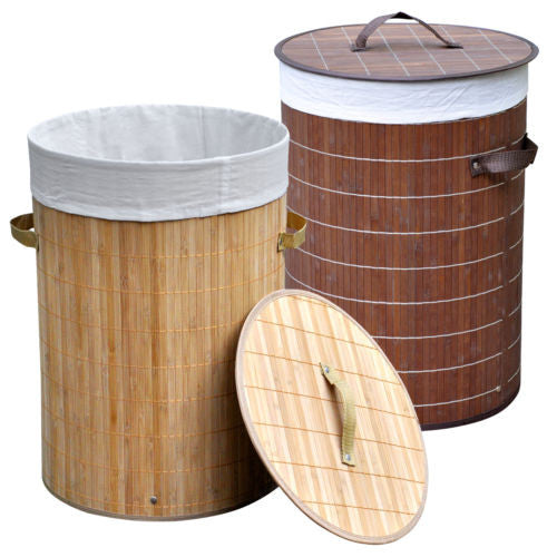 Osaka Bamboo Laundry Storage Bin - GSR Decor
