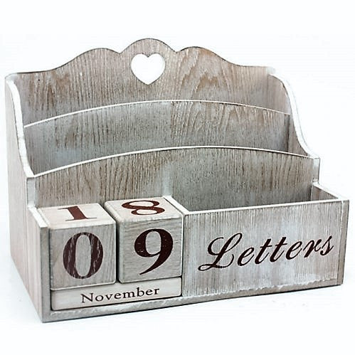Pondicherry Vintage Letter Rack & Calender