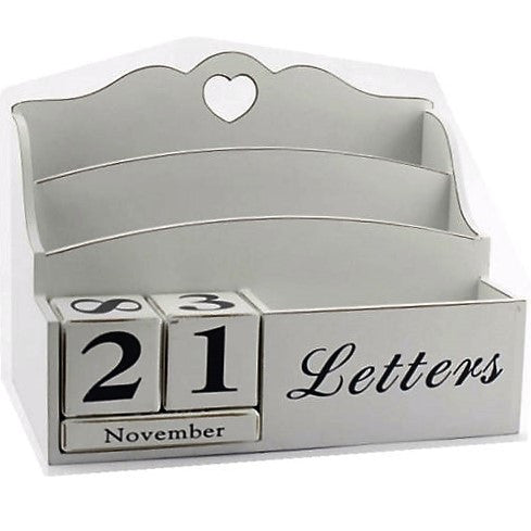 Pondicherry Vintage Letter Rack & Calender - GSR Decor